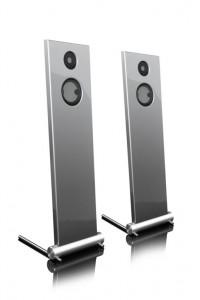 011d-JK Acoustics Prestige Air luidsprekers - zilver metallic - vooraanzicht - vrijgemaakt